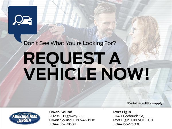 Request a Vehicle Now!
