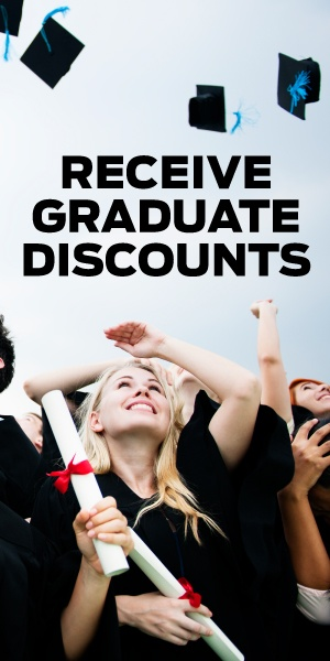 Get Discounts with the Graduate Program