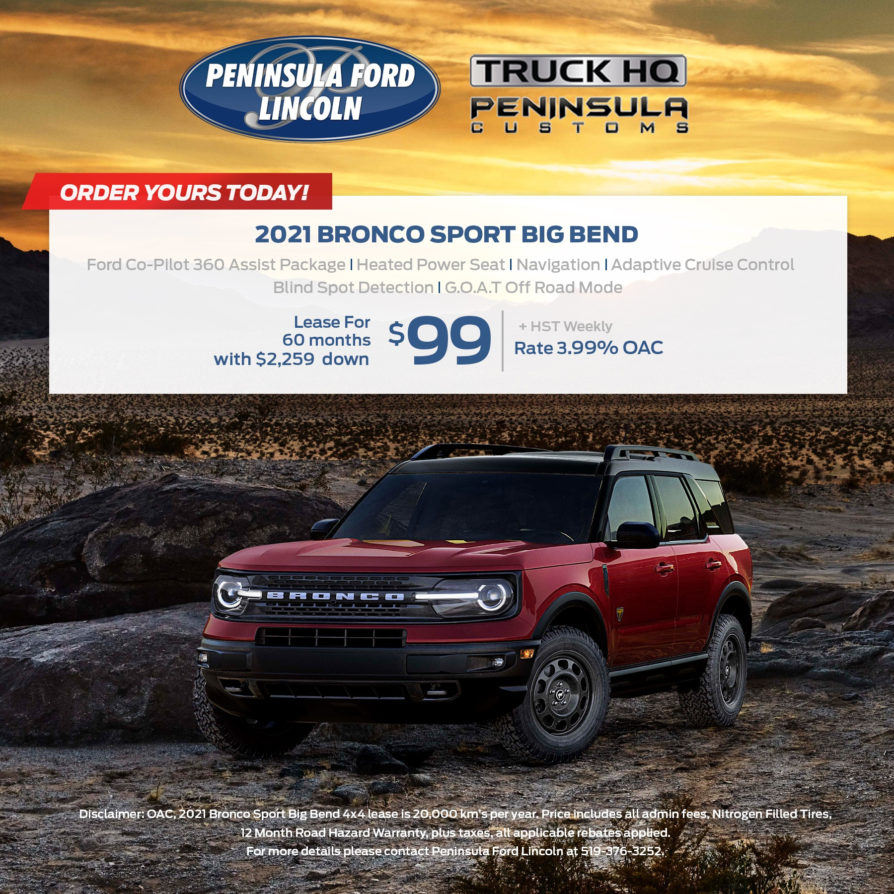 2021 Bronco Sport Big Bend