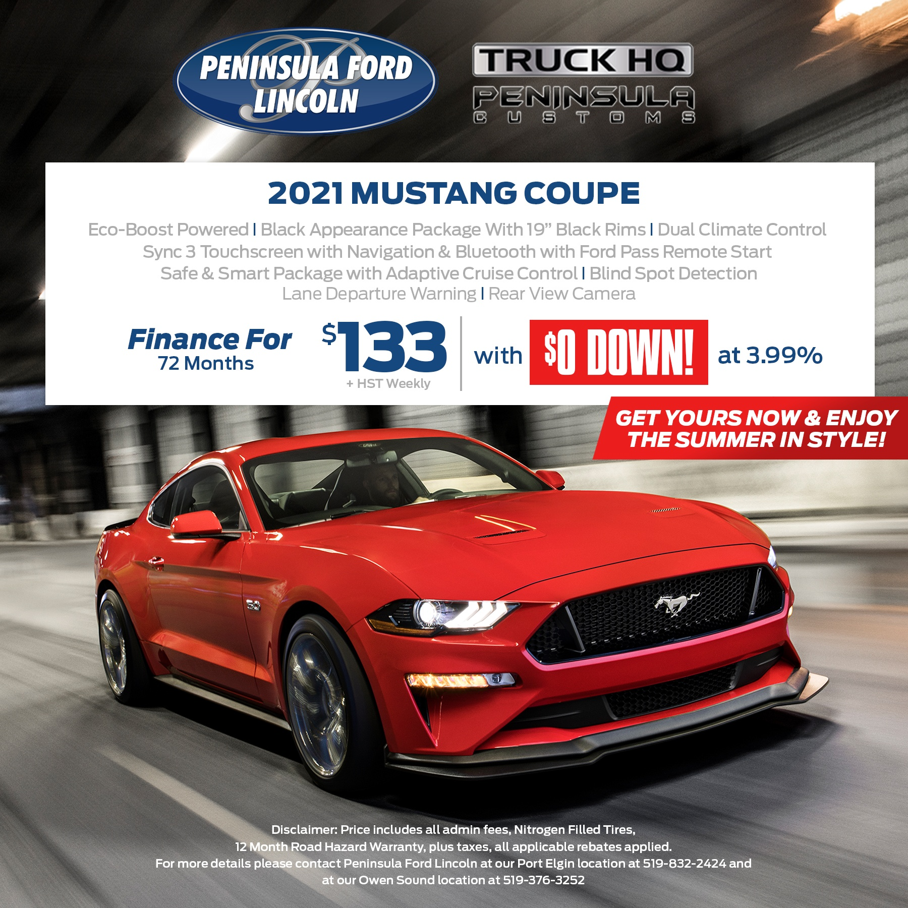 2021 Mustang Coupe
